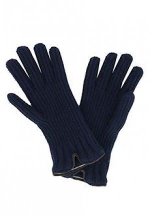 Перчатки FEDELI. Цвет: синий