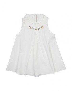 Блузка LOREDANA. Цвет: белый