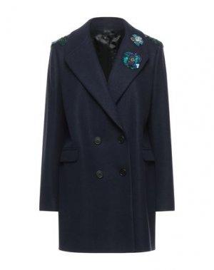 Пальто HANITA. Цвет: темно-синий