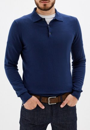 Поло Trussardi Jeans. Цвет: синий