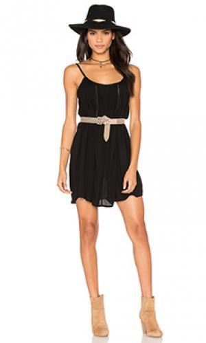 Платье desert sun AUGUSTE. Цвет: черный
