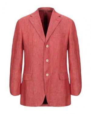 Пиджак JASPER REED. Цвет: кирпично-красный