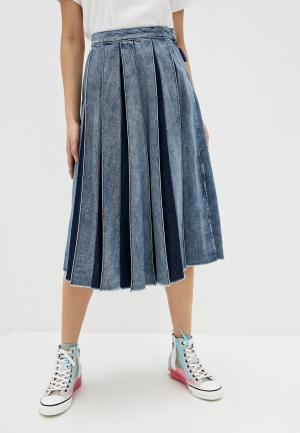 Юбка джинсовая Max&Co. Цвет: синий