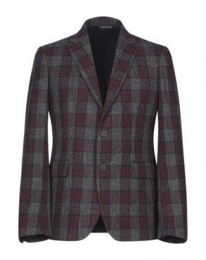 Пиджак BRIAN DALES. Цвет: баклажанный