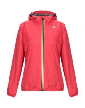 Куртка K-WAY. Цвет: красный