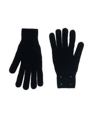 Перчатки MAISON MARGIELA. Цвет: черный
