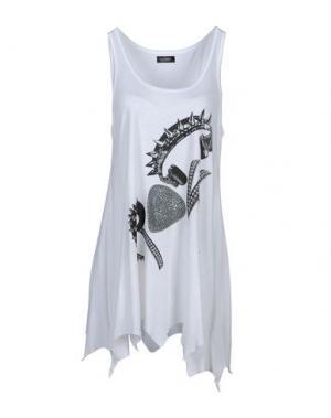 Короткое платье LAUREN MOSHI. Цвет: белый