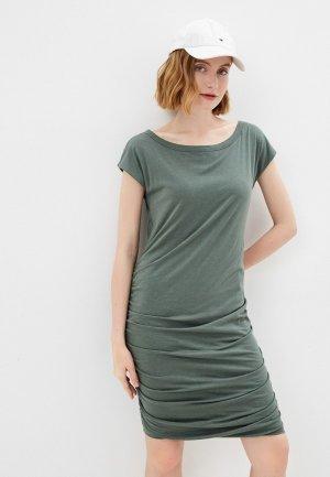 Платье Gap Maternity. Цвет: зеленый