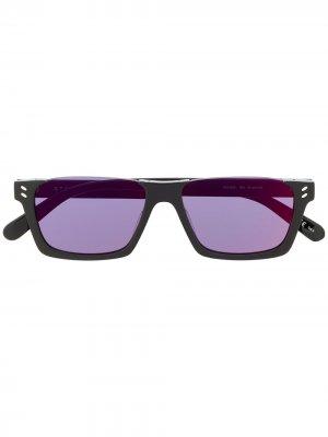 Солнцезащитные очки с затемненными линзами Stella McCartney Eyewear. Цвет: черный