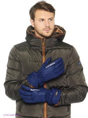 Перчатки Icepeak. Цвет: темно-синий