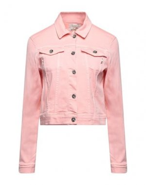 Джинсовая верхняя одежда FRACOMINA. Цвет: розовый