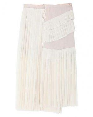Длинная юбка AQUILANO-RIMONDI. Цвет: слоновая кость