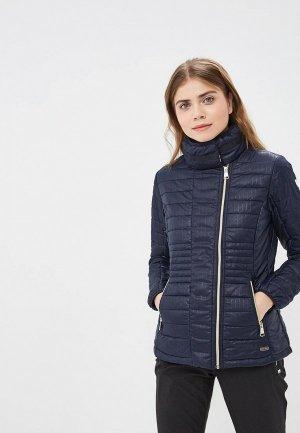 Куртка утепленная Luhta LEEA. Цвет: синий