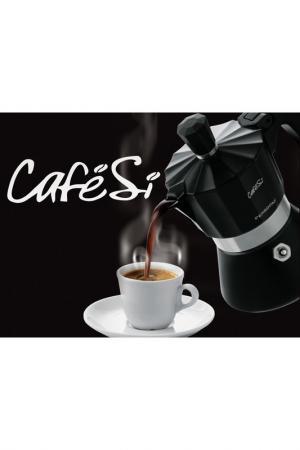 Гейзерная кофеварка на 1 чашку Pensofal. Цвет: черный