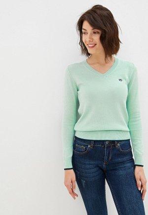 Пуловер Felix Hardy. Цвет: голубой