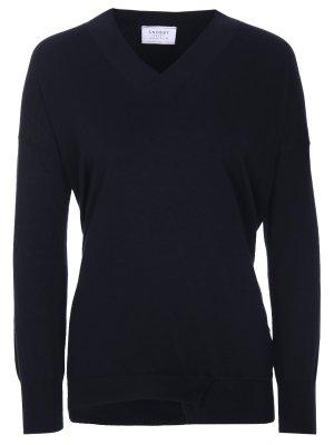 Пуловер классический SNOBBY SHEEP. Цвет: синий