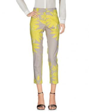 Повседневные брюки ALBA CONDE. Цвет: желтый