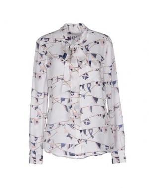 Pубашка EQUIPMENT. Цвет: белый