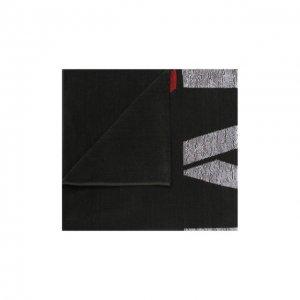 Хлопковое полотенце Giorgio Armani. Цвет: зелёный