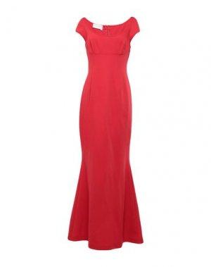 Длинное платье GIO' GUERRERI. Цвет: красный