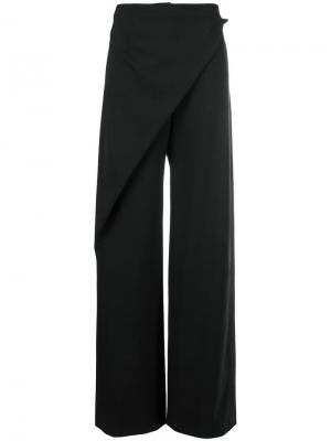 Широкие брюки с запахом Alberta Ferretti
