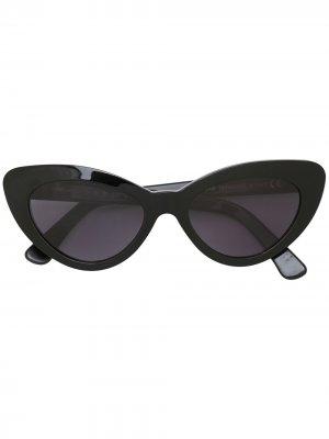 Солнцезащитные очки Leonard II E Illesteva. Цвет: черный
