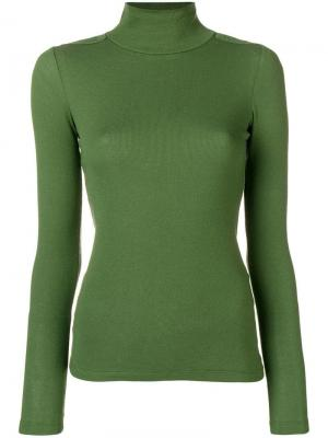 Fitted Turtle Neck Sweater Each X Other. Цвет: зеленый