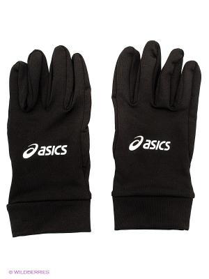 Перчатки MICRO GLOVES ASICS. Цвет: черный