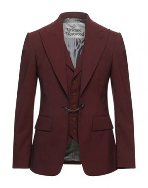 Пиджак VIVIENNE WESTWOOD. Цвет: красно-коричневый