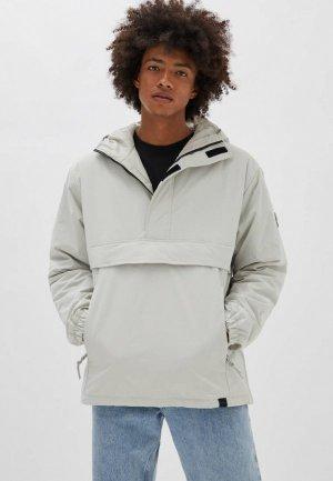 Куртка Pull&Bear. Цвет: белый