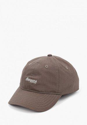 Бейсболка Bergans of Norway Cap. Цвет: коричневый