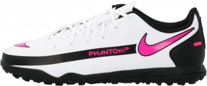 Бутсы для мальчиков Jr Phantom Gt Club TF, размер 35.5 Nike. Цвет: белый