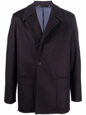 Однобортный пиджак PAUL SMITH. Цвет: черный