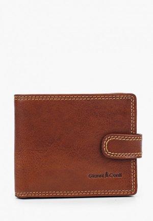 Кошелек Gianni Conti. Цвет: коричневый