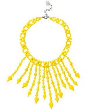 Ожерелье BEN-AMUN. Цвет: желтый