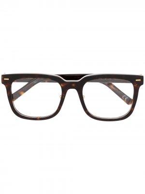 Очки Numero 86 в прямоугольной оправе Retrosuperfuture. Цвет: коричневый