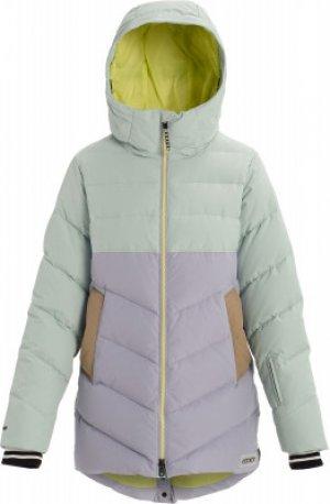 Куртка пуховая женская Loyle Down, размер 42-44 Burton. Цвет: серый
