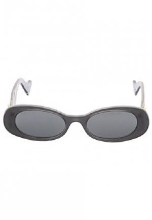 Очки GUCCI sunglasses. Цвет: серый