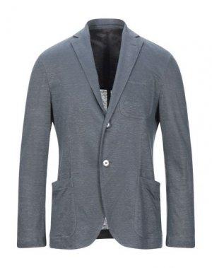 Пиджак CRUCIANI. Цвет: грифельно-синий