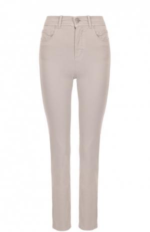 Укороченные джинсы Loro Piana. Цвет: бежевый