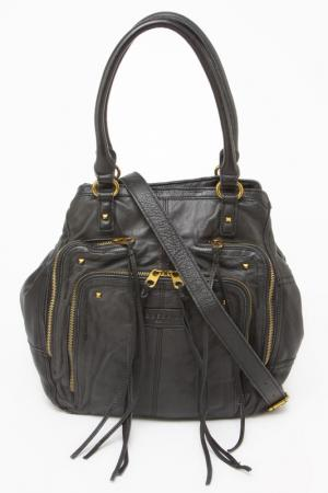 Шоппер LIEBESKIND BAGS&BELTS. Цвет: черный