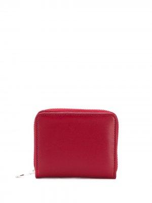 Компактный кошелек AMI Paris. Цвет: красный