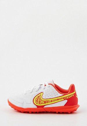 Шиповки Nike JR LEGEND 9 CLUB TF. Цвет: белый