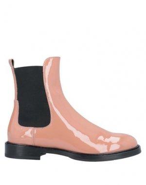 Полусапоги и высокие ботинки AGL ATTILIO GIUSTI LEOMBRUNI. Цвет: пастельно-розовый