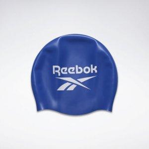 Шапочка для плавания Unisex Reebok. Цвет: humble blue
