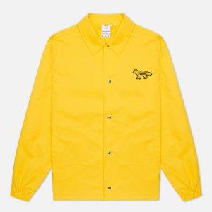 Мужская куртка ветровка x Maison Kitsune Logo Puma. Цвет: жёлтый