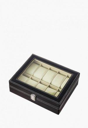 Шкатулка для украшений Elan Gallery 25х21х8 см. Цвет: черный