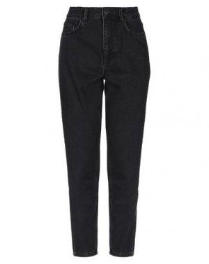 Джинсовые брюки MINIMUM. Цвет: черный