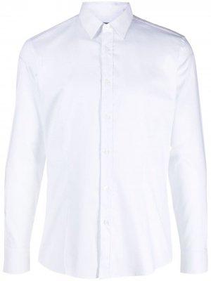 Рубашка на пуговицах Daniele Alessandrini. Цвет: белый