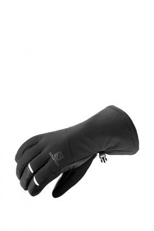 Перчатки PROPELLER LONG M Salomon. Цвет: черный